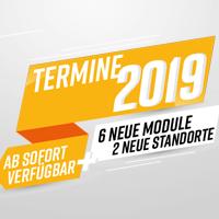 Unser Angebot des Jahres: die Module für 2019 sind da!
