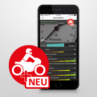 App-Fahrt für mehr Sicherheit beim Motorradführerschein