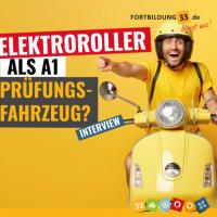 Hartig-Blog 13.08.2021: Elektroroller für A1 oder B196?